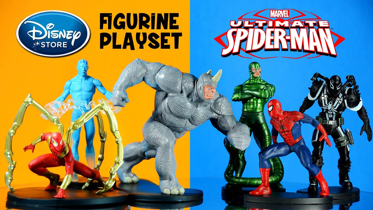 Ultimate Spider Man Figurine Playset Disney Store