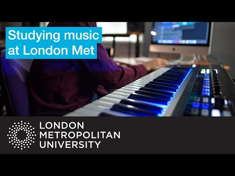 Study a music technology course at London Met