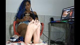 Ebony Teen Soles - Feet Fetish