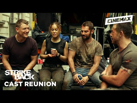 Cast Reunion with Philip Winchester & Sullivan Stapleton  Strike Back  Cinemax