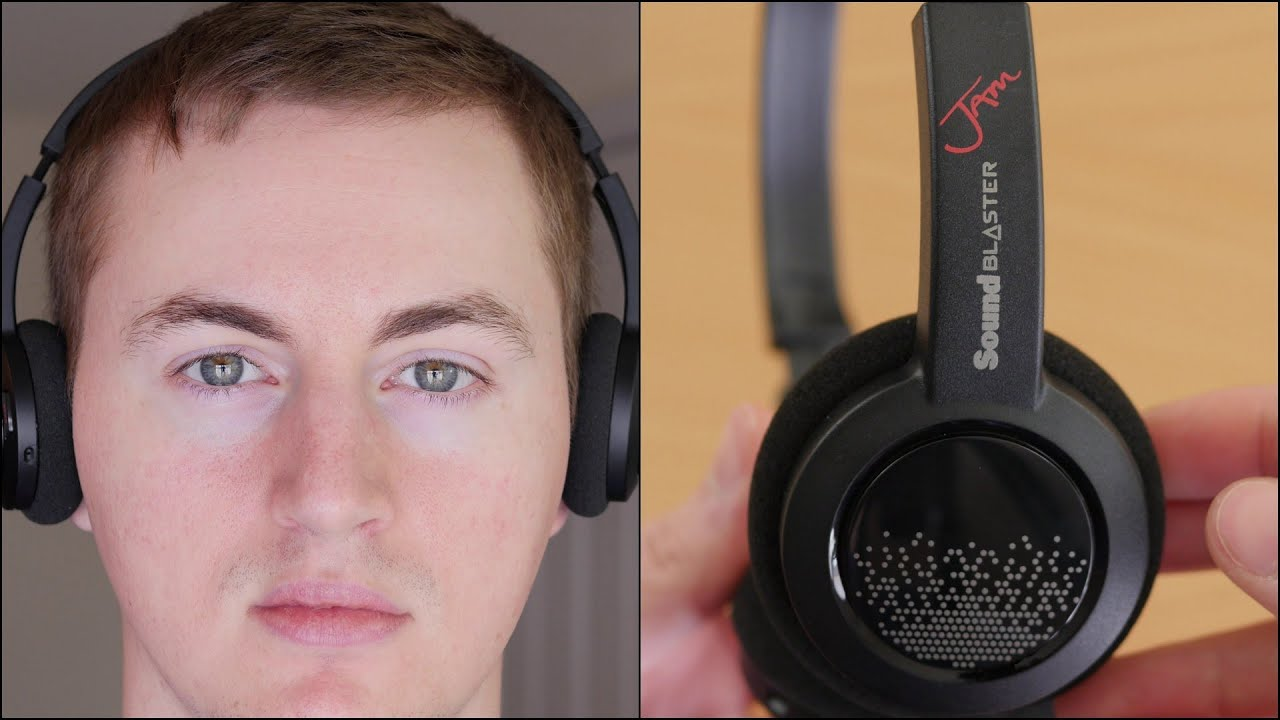 sound blaster jam wireless headphones review youtube. Black Bedroom Furniture Sets. Home Design Ideas