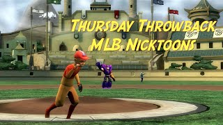 Thursday Throwback (MLB Nicktoons)