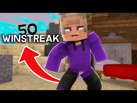 getting a 50 solo bedwars winstreak
