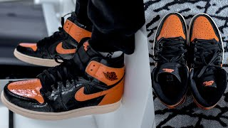 AIR JORDAN 1 SHATTERED BACKBOARD 3.0 ON FOOT REVIEW | A SNEAKER LIFE