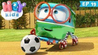 Trenulețele 🚂 Echipa de fotbal - Desene animate pentru baieti (ep. 19) | HeyKids