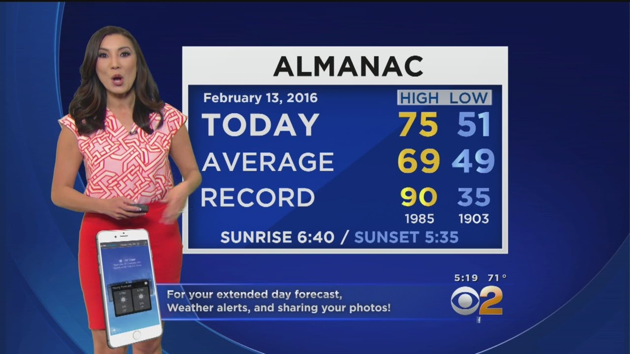 Amber Lee Weather Forecast (Feb  13)