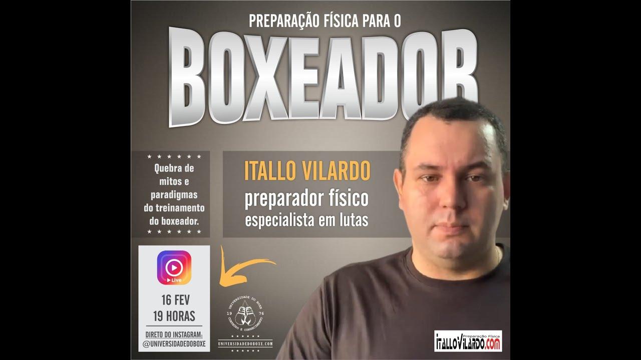 Preparação física para o boxeador com Itallo Vilardo.