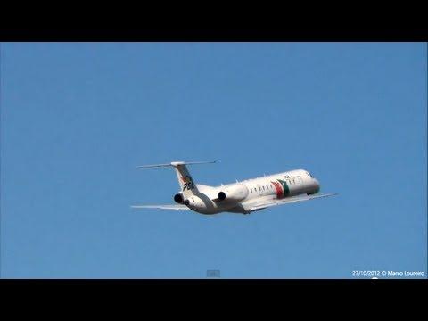 Portugália Embraer ERJ145 CS-TPM takeoff Porto RWY35 OPO/LPPR