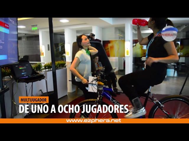 Activación BTL Bicicletas Interactivo - Interactive Bike Simulator