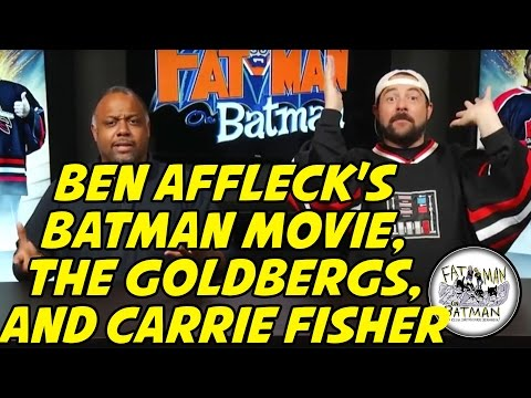 BEN AFFLECK'S BATMAN MOVIE, THE GOLDBERGS, AND CARRIE FISHER