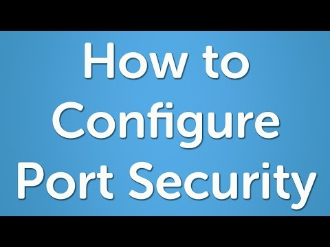 How To Configure Port Security On A Cisco Switch