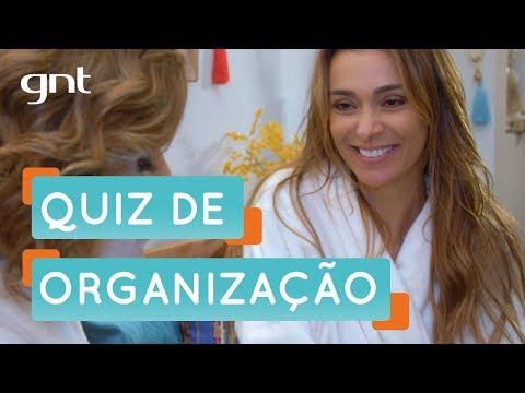 Mônica Martelli faz quiz sobre seu grau de organização   Organização   Santa Ajuda   Micaela Góes