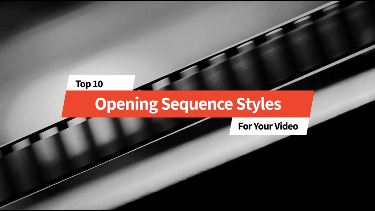 10 Best Opening Title Sequence Styles - TV and Film