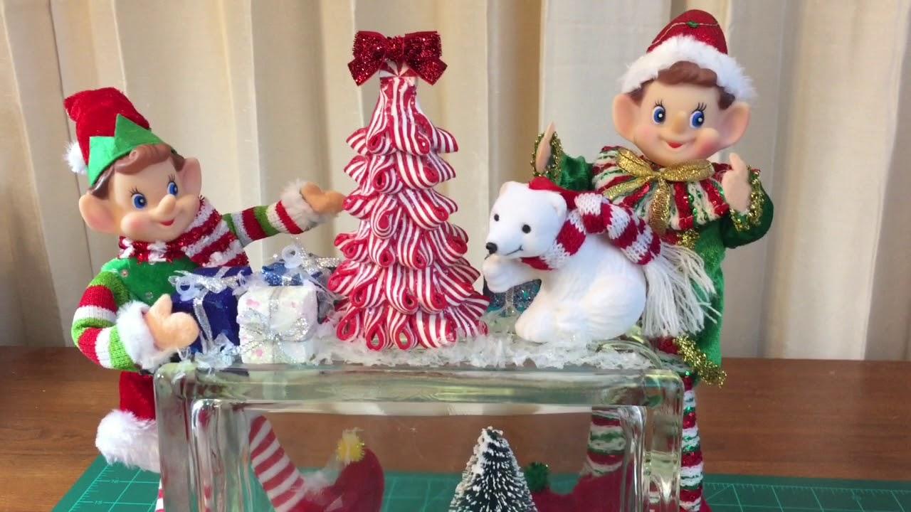 christmas glass block diy - Christmas Glass Blocks
