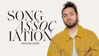 Ali Gatie Sings Ed Sheeran, Justin Bieber, and Frank Ocean In A Game Of Song Association | ELLE
