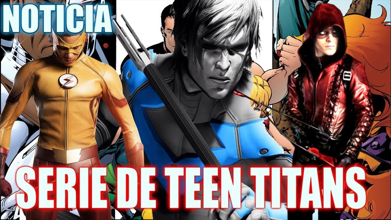 Teen Titans Confirmado Nueva Serie Para 2018 -7478