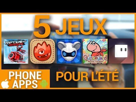5 jeux mobiles pour passer le temps cet été (Phone Apps)