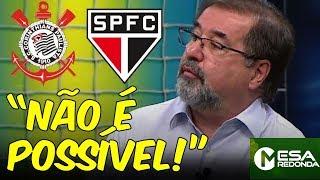 """Marco Aurélio CRITICA ARBITRAGEM de Corinthians 2 x 1 SPFC: """"Não é possível!"""" (17/02/19)"""