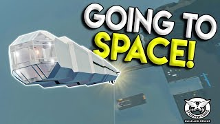 LAUNCHING A ROCKET TO SPACE & BEST SPEEDBOAT! - Stormworks: Build and Rescue Update Gameplay