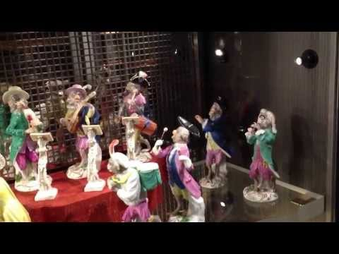 Meissen Monkey Band Figures