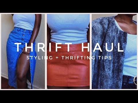 THRIFT HAUL (try on) | South African YouTuber