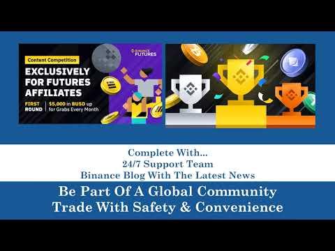 BINANCE Worlds Largest Crypto Exchange