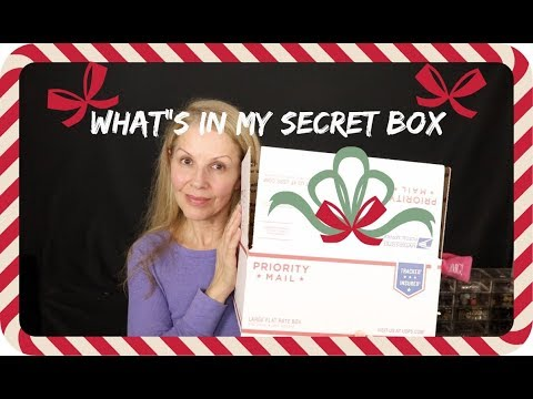 What's In My SECRET BOX - Subscriber Appreciation - Tammy's Ageless Beauty - 동영상
