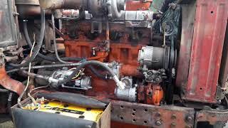 ЮМЗ с двигателем СМД 22 запуск двигателя