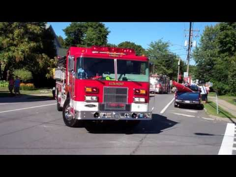 Albany County Volunteer Firefighters Association Parade