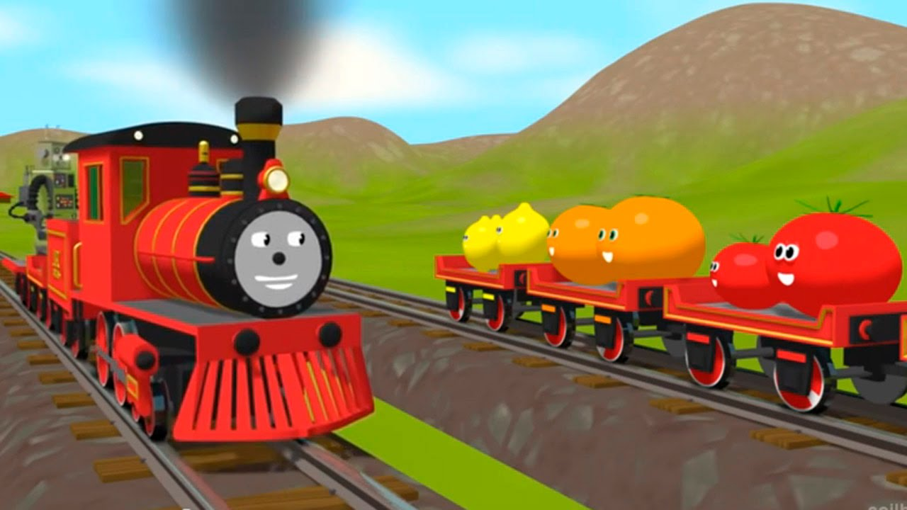 Dessin anime en francais shawn le train apprendre les couleurs youtube - Dessin anime les pingouins ...