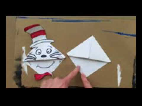 Dr. Seuss Cat In The Hat Bookmark