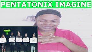 "PENTATONIX ""IMAGINE"" {OFFICIAL VIDEO} REACTION !!!!"