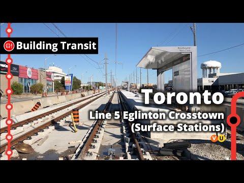 Eglinton Crosstown Surface Stations (Building Transit)