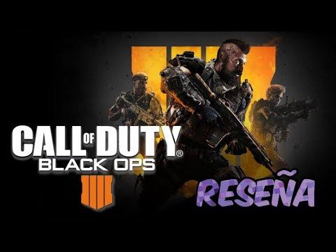 Call of Duty Black Ops 4 reseña en español