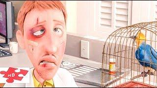Лучшие СМЕШНОЕ ВКРАТЦЕ - из мультфильмов - # 2 / нарезка для настроения Взрослым и детям