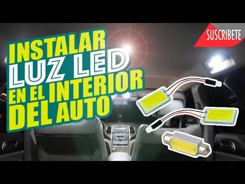 Como instalar luz led en el interior del auto youtube - Poner luz interior coche ...