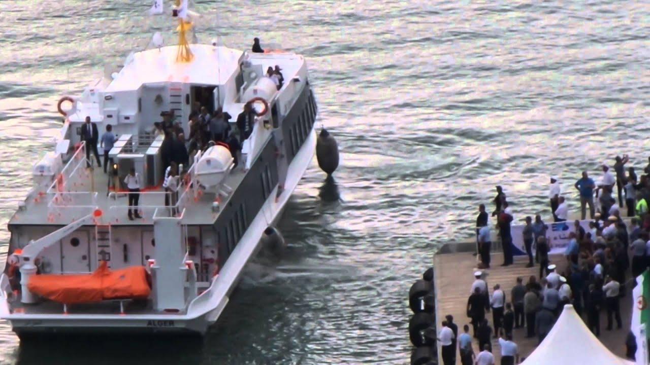 bateau algerie bejaia