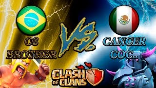 Clash of Clans - OS BROTHER x Cancer CoC.. parte 1 - Clan Wars