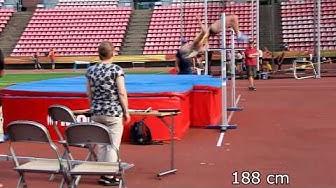 Heta Tuuri (FIN) 188 cm High Jump Häme Championships Tampere 2019