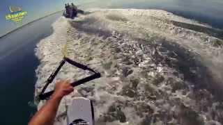 Camping Les Sablons : Wakeboard à Portiragnes plage!