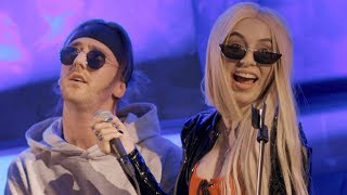 "Ava Max & TIX - ""Sweet But Psycho"" LIVE!"