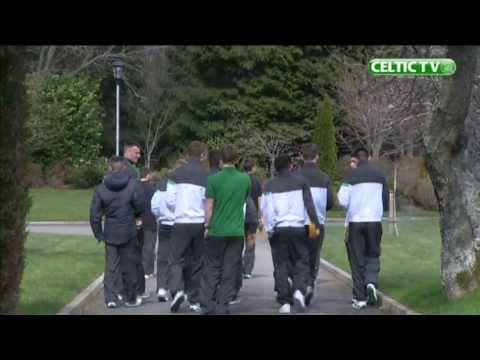 Celtic FC - A Day With The Celtic Under 20s Squad