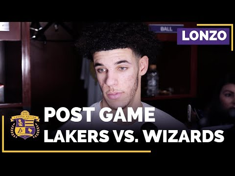 Lonzo Ball On Statement Vs. Wizards John Wall, Message To Julius Randle