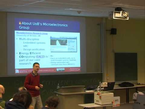 [FOSDEM 2014] Energy scavenging, battery life and should we build more power stations