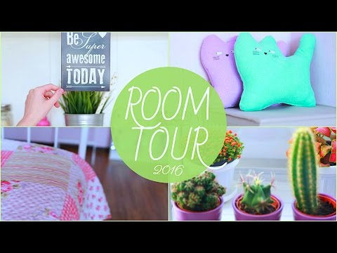 ROOM TOUR 2016 | МОЯ КОМНАТА | XENIA WARRIOR