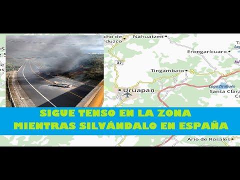 Continuaron Bloqueos En Uruapan Y También En Ziracuaretiro #Michoacán