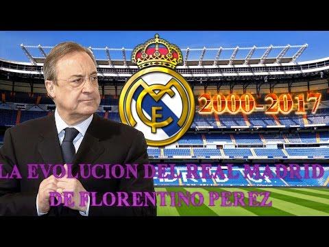 LA EVOLUCIÓN DEL REAL MADRID DE FLORENTINO PEREZ (2000-2017)