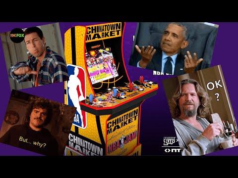 Arcade1up Chinatown Market NBA Jam Release Date!  Okay? from 19kfox