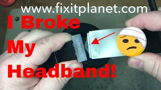 Beats Studio Wireless 2 0 Headband Repair From Start to Finish(Beats Studio Wireless 2 0 Headband Repair From Start to Finish (with explanation) Beats Headphone Repair http://www.fixitplanet.com., 2017-01-09T05:20:01.000Z)