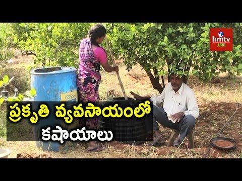 Natural Fertilizers Making | Natural Farming | hmtv Agri